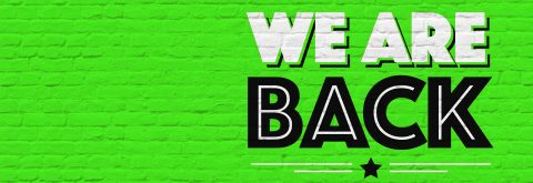 WE'RE BACK! Come in… we've missed you ❤️